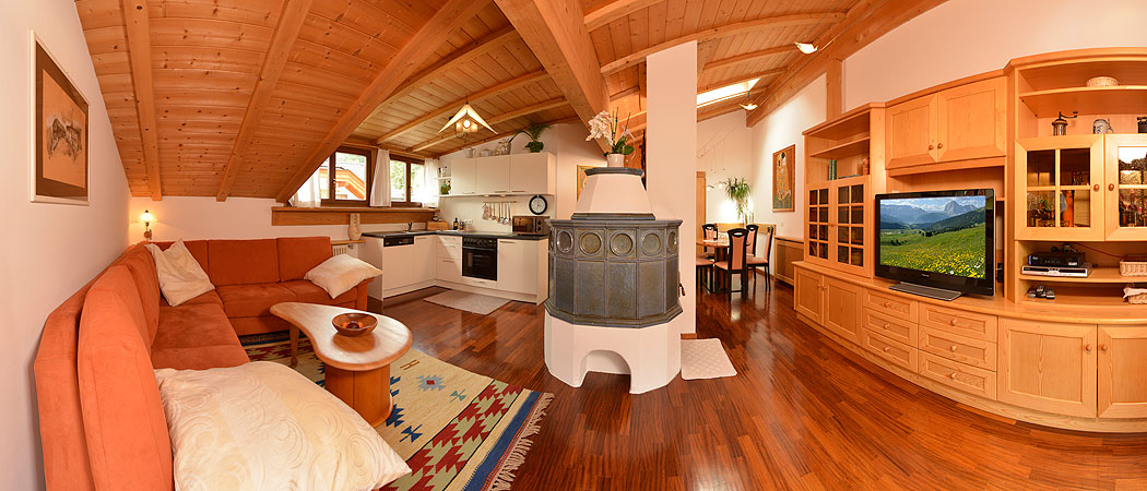 Apartments Rezia in the center of Ortisei Val Gradena